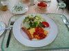 ペンションの朝食